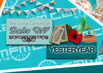 The Great Cambridge Bake Off broadcasts on Cam FM 97.2, Wednesdays 7pm-8pm